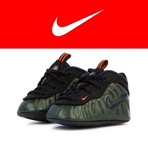 331746eafad04 Nike Lil Foam Posite Pro Sequoia Green Size 2C